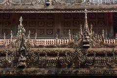 Shwenandaw Kyaung Temple Royalty Free Stock Image