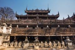 Shwenandaw Kyaung Temple Royalty Free Stock Photos