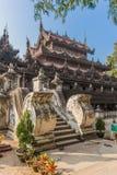 Shwenandaw Kyaung Temple or Golden Palace Monastery in Mandalay, Stock Photos