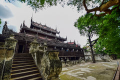 Shwenandaw monaster Zdjęcia Royalty Free