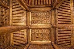 Shwenandaw Monastery ceiling Royalty Free Stock Photography