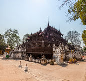 Shwenandaw Monastery  - Mandalay Royalty Free Stock Photo