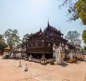 Shwenandaw Monastery  - Mandalay Royalty Free Stock Photo