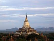 Shwesandaw pagod Fotografering för Bildbyråer
