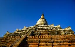 Shwesandaw pagoda Bagan, Myanmar Royalty Free Stock Images