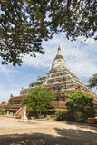Shwesandaw Pagoda. This Buddhist pagoda was built by King Anawrahta in 1057, Bagan, Myanmar, Southeast Asia stock image