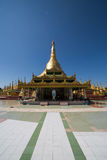 Shwesandaw pagoda in Twante, Myanmar stock photo