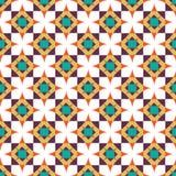 Shweshwe geometrische hübsche, bunte Sternchen-Vereinbarung vektor abbildung