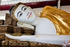 Shwethalyaung Buddha, Bago, Myanmar Stock Image