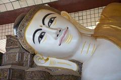 Shwethalyaung Buddha Stock Image