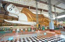 Shwethalyaung pagoda, Bago. Myanmar (Burma) Stock Photography