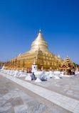 shwezigon antyczny bagan pagodowy miasteczko Obrazy Stock