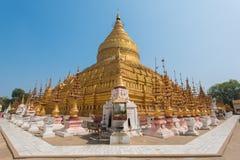 Shwezigon pagod fotografering för bildbyråer