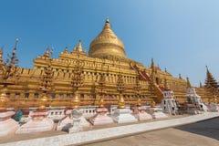 Shwezigon pagod royaltyfri foto