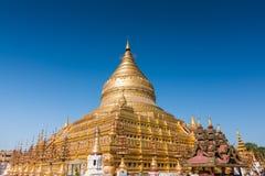 Shwezigon pagoda Zdjęcie Stock