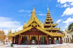 Shwezigon pagoda Fotografia Stock