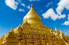 Shwezigon pagoda Obraz Stock