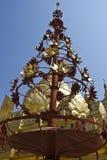 Shwezigon Pagoda Architectural detail Royalty Free Stock Photography