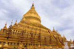 Shwezigon pagoda Stock Photography