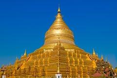 Shwezigon pagoda. Bagan. Myanmar. Stock Images