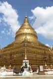 Shwezigon Pagoda , Bagan in Myanmar Stock Images