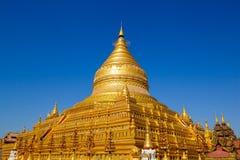 Shwezigon Pagoda,Bagan, Myanmar Stock Images