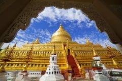 Shwezigon Pagoda, Bagan, Myanmar Stock Image