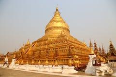 Shwezigon Pagoda Stock Image