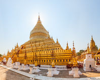 The Shwezigon Pagoda Stock Photo