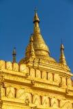 The Shwezigon Pagoda Royalty Free Stock Photos