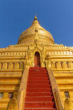 The Shwezigon Pagoda Stock Image