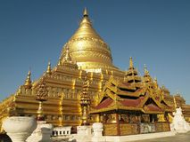 Shwezigon Pagoda Royalty Free Stock Photos