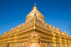 Shwezigon Pagoda Royalty Free Stock Images