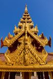 The Shwezigon Pagoda Royalty Free Stock Photo