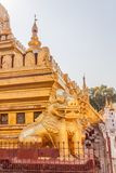 The Shwezigon Pagoda Stock Photography