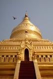 shwezigon pagoda myanmar Стоковая Фотография RF