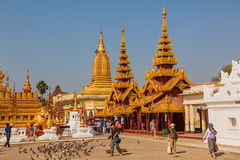 The Shwezigon Pagoda Royalty Free Stock Photo
