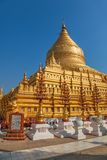 The Shwezigon Pagoda Royalty Free Stock Photos