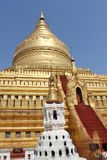 Shwezigon Pagoda Royalty Free Stock Images