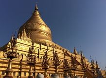 Shwezigon Pagoda Stock Images