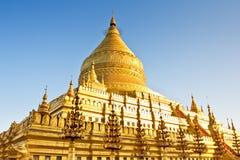 Shwezigon Pagoda Royalty Free Stock Photography