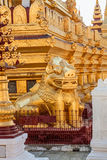 The Shwezigon Pagoda Stock Images