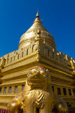 Shwezigon-Pagode, Bagan auf Myanmar (Burmar) Lizenzfreie Stockfotografie