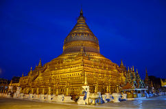 Shwezigon Paya Royalty Free Stock Image