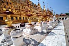 Shwezigon Paya Pagoda, Bagan, Myanmar. Stock Photography