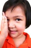 So shy! Royalty Free Stock Photos