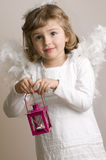 Shy Angel Royalty Free Stock Image