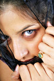 Shy arabian girl Royalty Free Stock Image