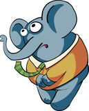 Shy Boy Elephant Stock Image
