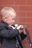 Shy Boy Royalty Free Stock Image